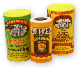 Spice and Seasoning Cans